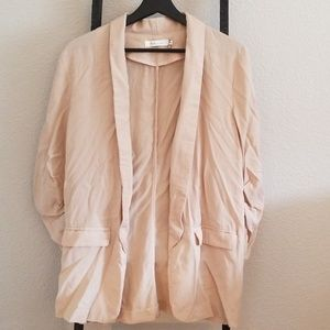 Ark L Cream/Tan Blazer Never Worn